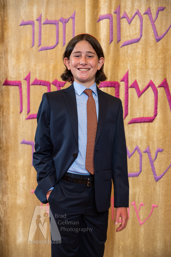 145_Cooper L Mitzvah_Inside Synagogue